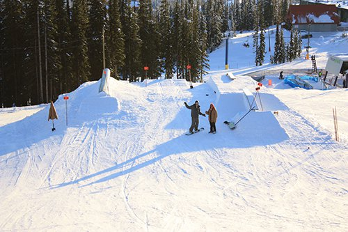 December 27th Rail Jam setup is in!