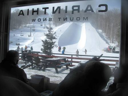 Mount Snow's Carinthia - Opens First Pipe in the East