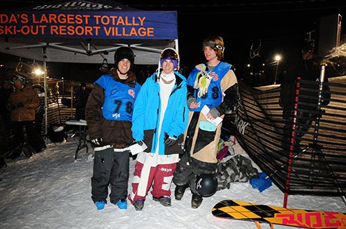 Village Rider Rail Jam Results and Photos - December 27th