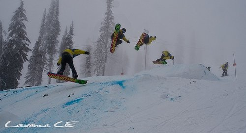 "Kootenay Snowboard Academy ""Grabs"" Some Podium"