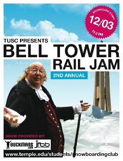 Temple Bell Tower Rail Jam
