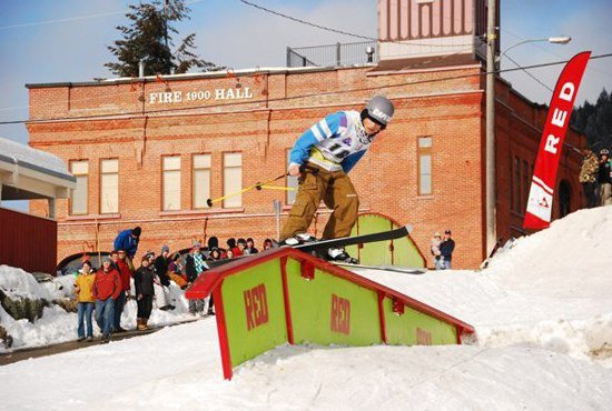 The Game rail jam takes it to the streets of Rossland