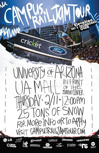 2010 Campus Rail Jam Tour Kicks off!