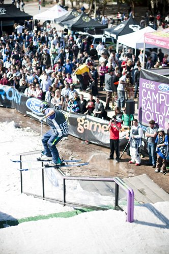 VIDEO RECAP! - UofA - Campus Rail Jam Tour