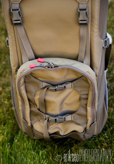 Front View Of The Clik Elite Volt Lower Pocket Dual Straps To Attach Wver Doesn 8217 T Fit Inside Main Compartment Or Along Sides