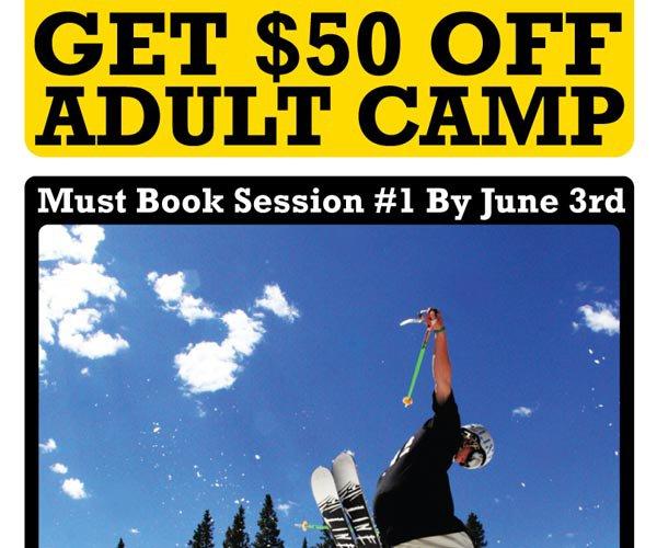 Get $50 Off Adult Camp
