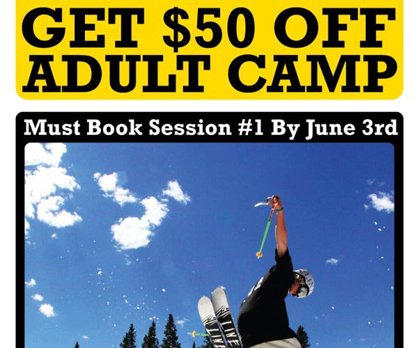 Get $50 Off Adult Camp