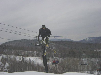 one of my coaches at Sundayriver doing a 360 x tail grab