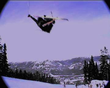 Mute in tha pipe at Blackcomb...
