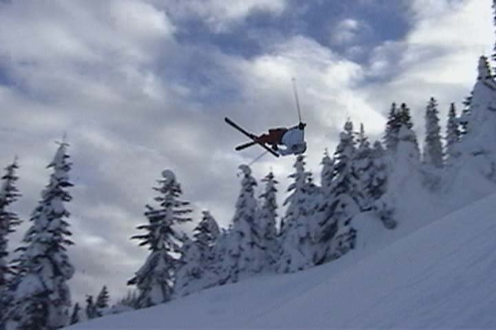 Spinny Flip Thing in Bluewood BC