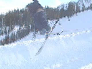 Tail grab in the pipe
