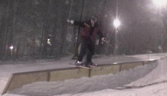 Nice, smooth rail slide,  32 foot rail.