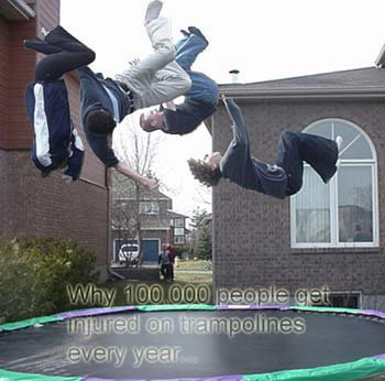 Trampolines + Photoshop = Fun
