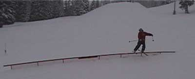 45ft Rail Slide @ Schweitzer
