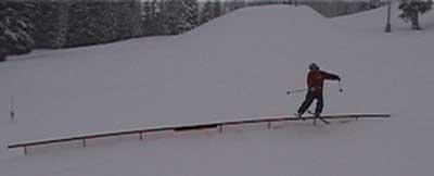 45ft Rail Slide @ Schweitzer