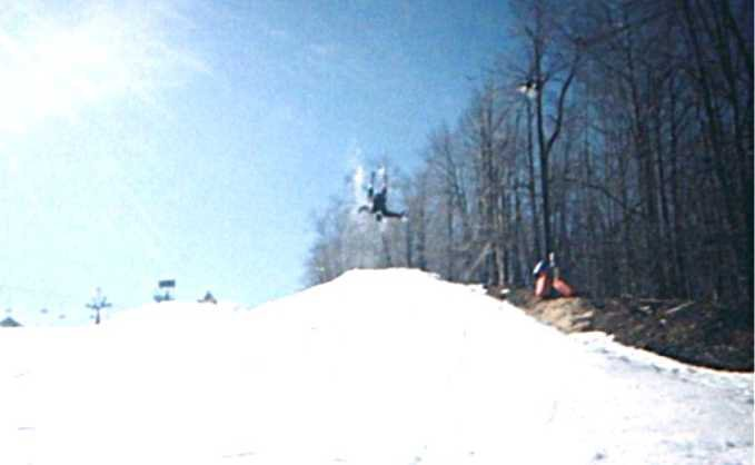 first backflip attempt ever
