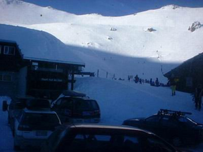 Yeah, Mt Hutt down in NZ.  Stayed there for about a month or so back in 2000 summer.