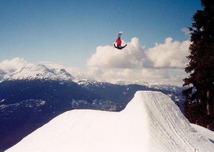 Johan huge in Whistler! (Check out the Ns team Page)
