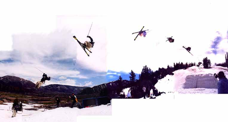 """post season """"supersession"""" at buttermilk, co  75 foot table"""