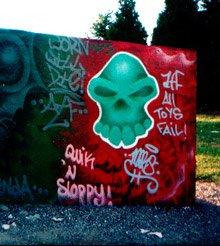 old school skull from 98