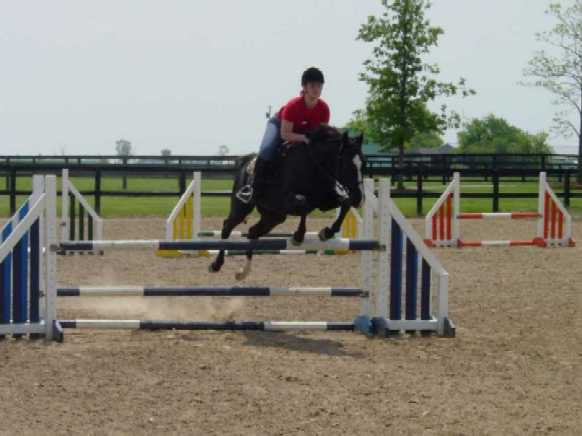 3 foot 3 inch jump