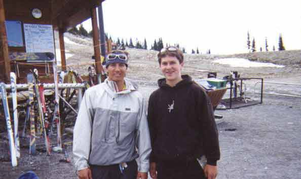 Pic of me and Jonny Moseley