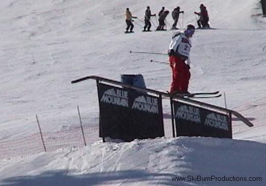 Rail @ coors light winter classic Slope style comp