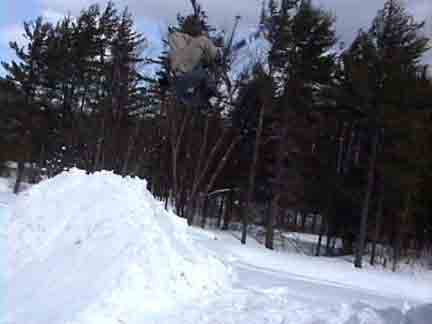 i think this one might be really bad quality but oh, backflip tail cross, i think it was my first on
