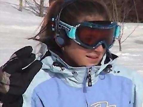 Jodi is a ski bunny!