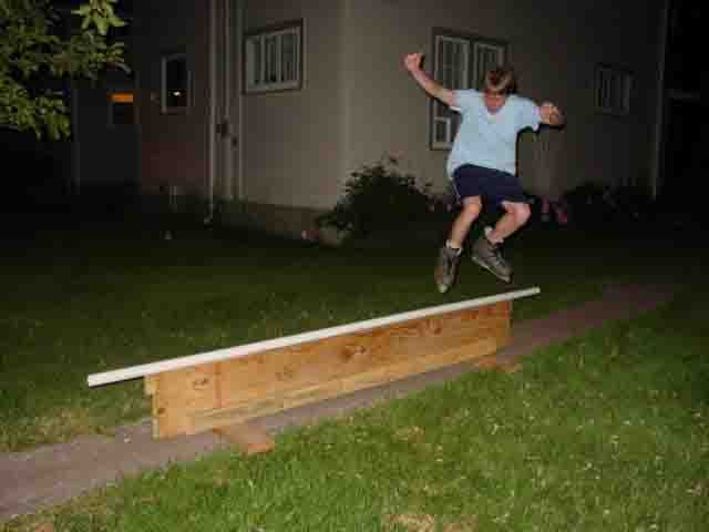 Frontside Disaster, we know its not high
