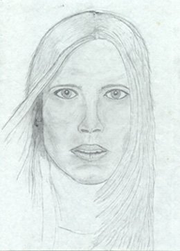 A portrait of Kristi from a Nordica add