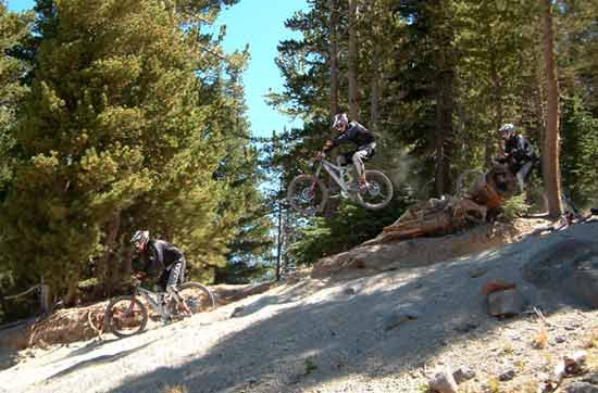 tearin up mammoth's velocity course