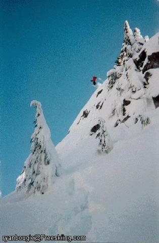 Mt. Seymour Cliff