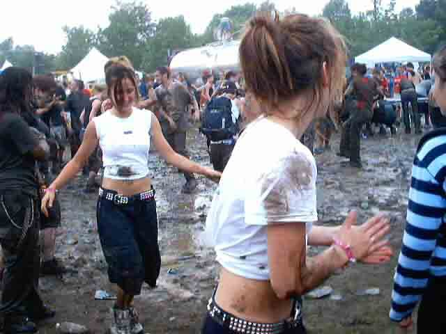 chicks in mud, warped in montreal