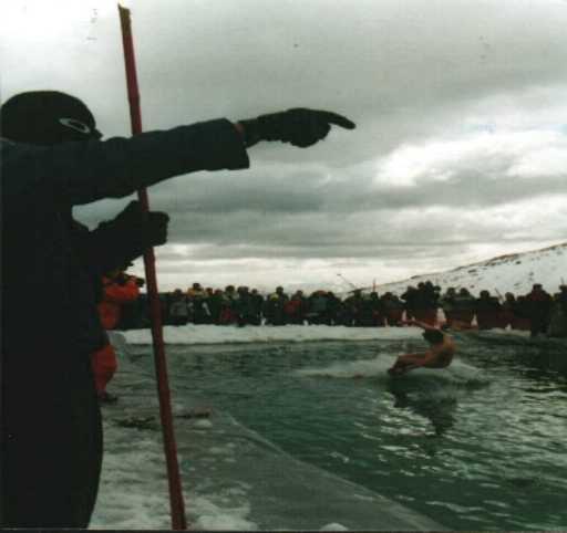 Go the Kiwi naked jumping