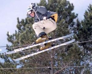 Erik Kohl 360 Safety at Tyrol Basin End of Season Comp 2002