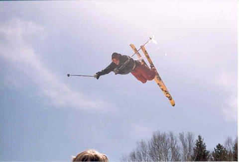 David Lesh Lawn Dart at Tyrol Basin End of Season Comp 2002