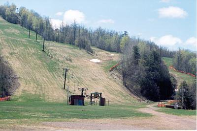 Snow on Memorial day In MI at Blackjack Ski Resort