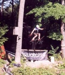 Striaght jump off Water Ramp in Fond Du Lac, WI 2001
