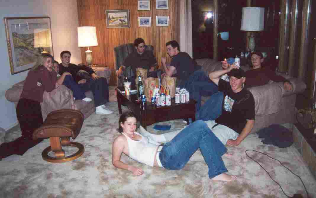 Party at misty-nine's house