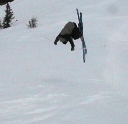 high speed flip off of nothing