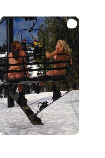 better than other naked people but snowboarders