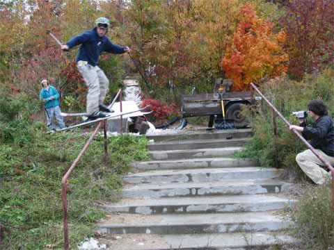 Lane K - Fall Handrail