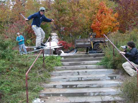 Lane K - Fall Handrail