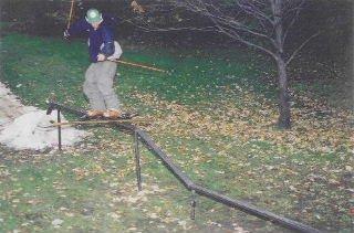 backyard rail