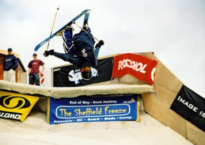 Skiing in sheffield (england)