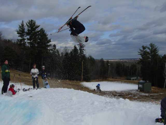 d-spin, diff skier