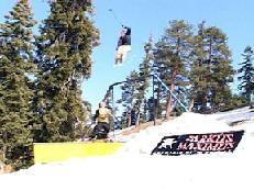 This was sick rail they have at Mountain High