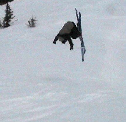 damm flat landing-frontflip