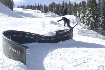 This is Paul Cotter on the S-rail at copper.
